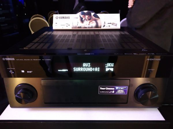 Amplificateurs Yamaha Aventage 2018 @ Paris Audio Vidéo Show 2018 - Tests et Bons Plans