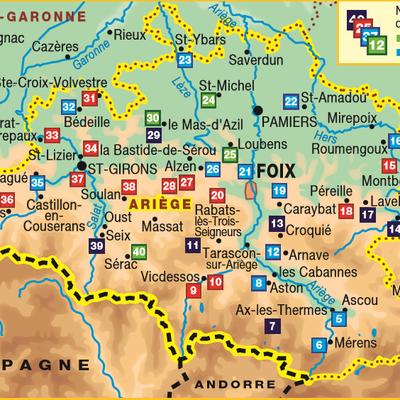 En pédibus sur les Chemins des Pyrénées Ariègeoises  (GR 10 - GR 107......) - Mai 2021