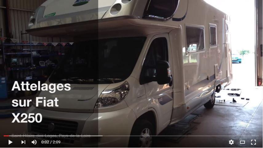 FRANSSEN REMORQUES Attelages Camping-car Fiat X250 / tel +33 (0)2-515-226-57