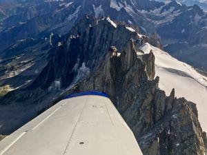Le Mont-Blanc au mois d'Août