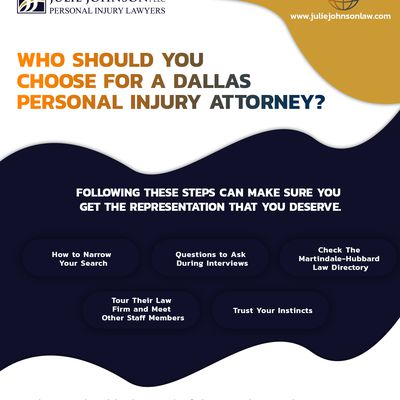Who Should You Choose For A Dallas Personal Injury Attorney?