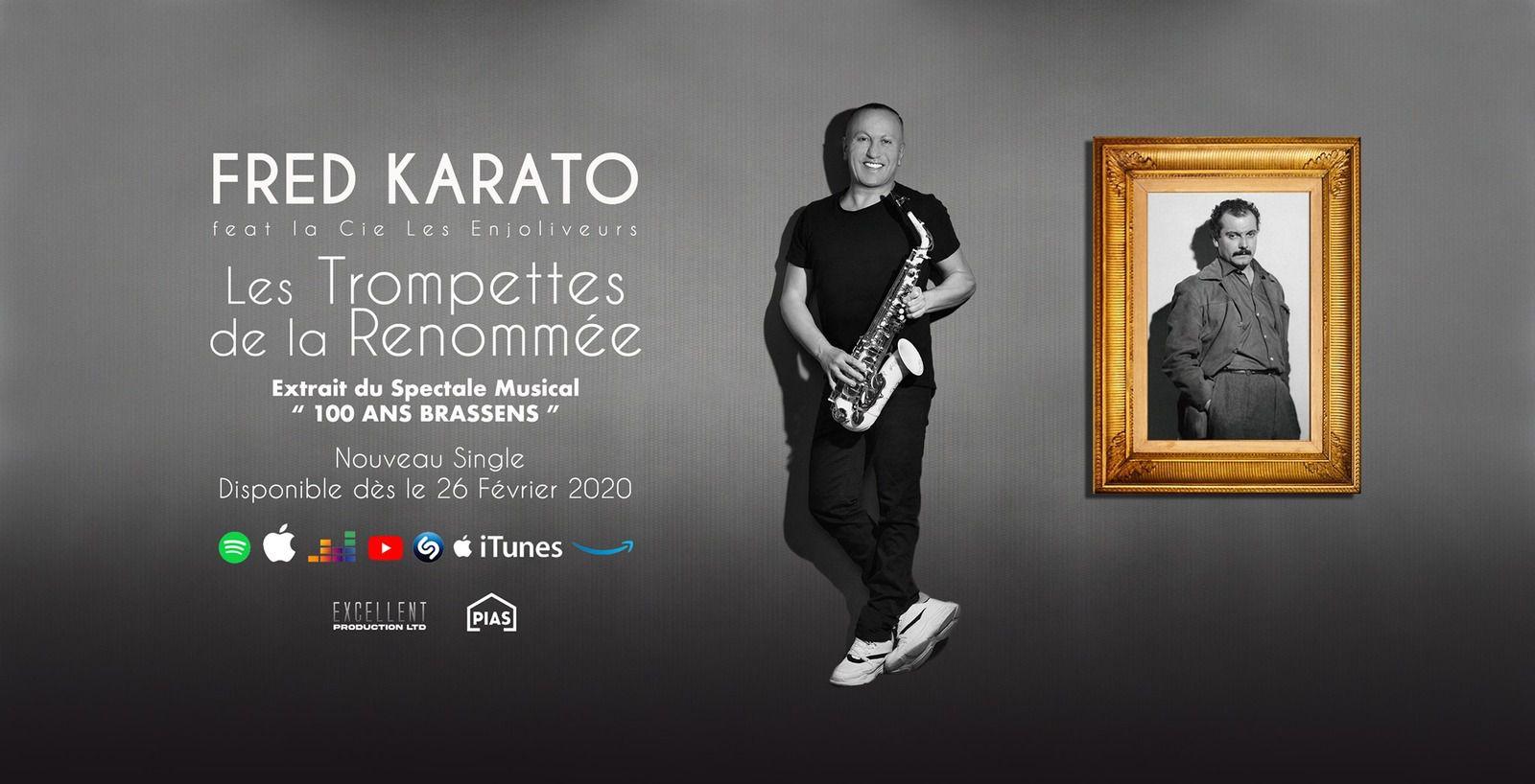 Fred Karato dévoile « Les Trompettes De La Renommée » !