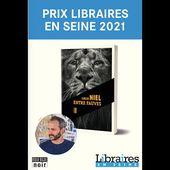 Le lauréat du prix Libraires en Seine 2021