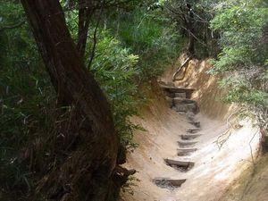 Kôbé : Le Jardin des Rochers (Rock Garden), promenade aventure