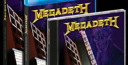MEGADETH: Rust In Peace-Live (2010-DVD) Thrash-Metal