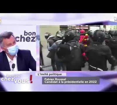 Fabien Roussel - Public Sénat - 04/05/21