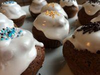 Cupcakes au Banania