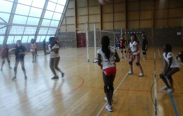 AS volley semaine du 9 au 12 mai