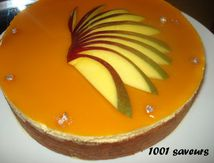 Le Tiffany (Entremets Mangue, Framboise et Ananas)