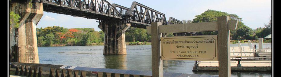 Thaïlande : le Pont de la Rivière Kwaï