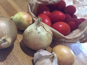 Sauce tomates confites au four