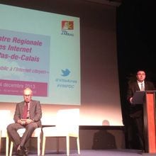Intervention au colloque Villes Internet à Arras