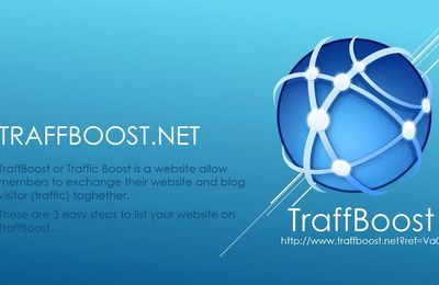 Traffic Boost one of tool to generate live traffic to your websites from all around the World