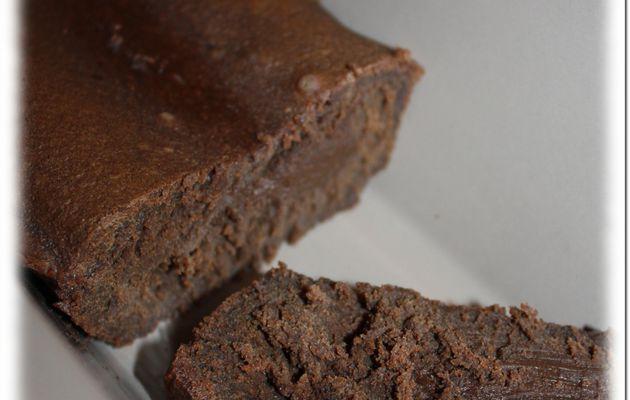 Fondant au chocolat et mascarpone.