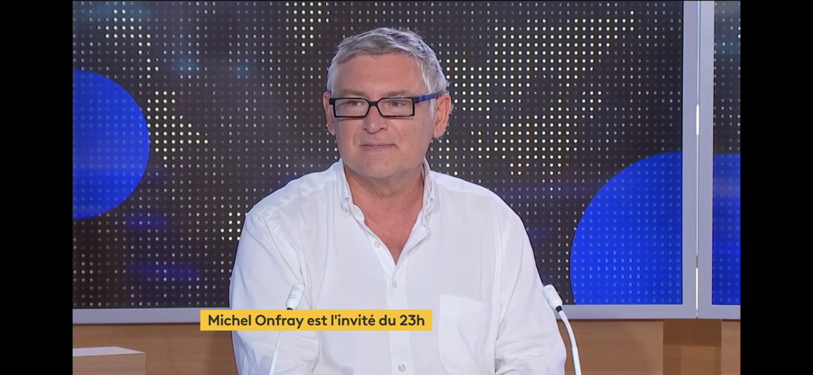 Michel Onfray - Le 23h (France Info) - 24.08.2021