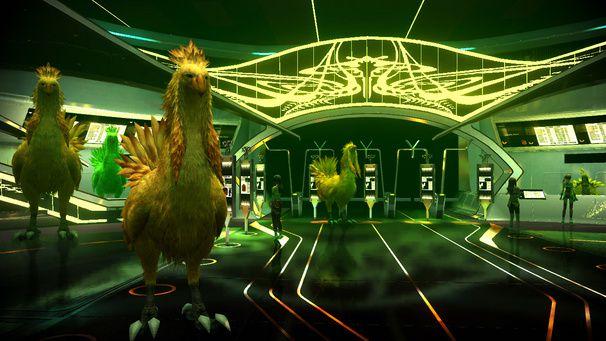 Final Fantasy XIII-2 ; un casino, des DLC et de gros chocobos