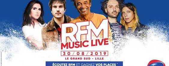 Pour la braderie, RFM s'installe à Lille avec un RFM Music Live