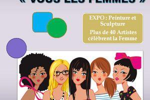 """Expo """"Vous les femmes""""  Villa Parry le Grau du Roi"""