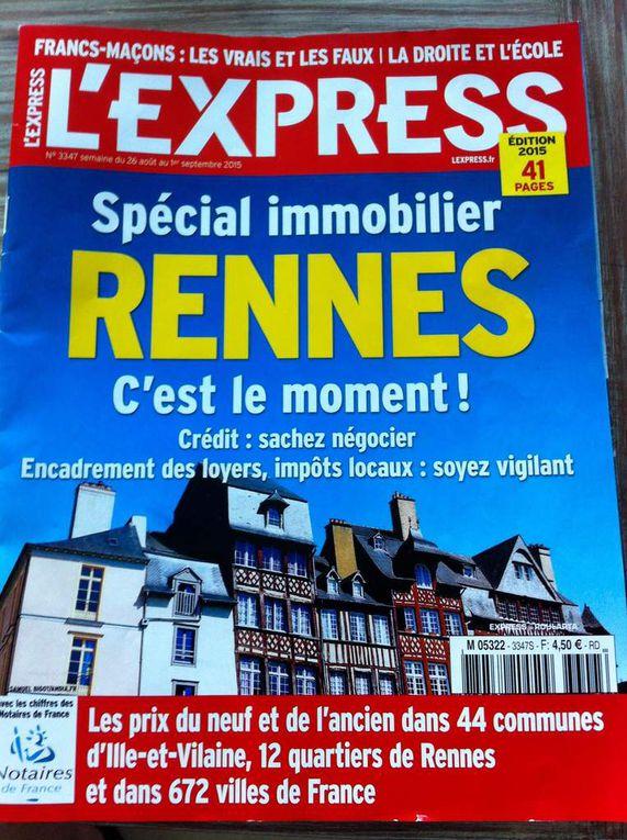 Hebdo L'Express N°3347 Semaine du 26/08 au 01/09/2015