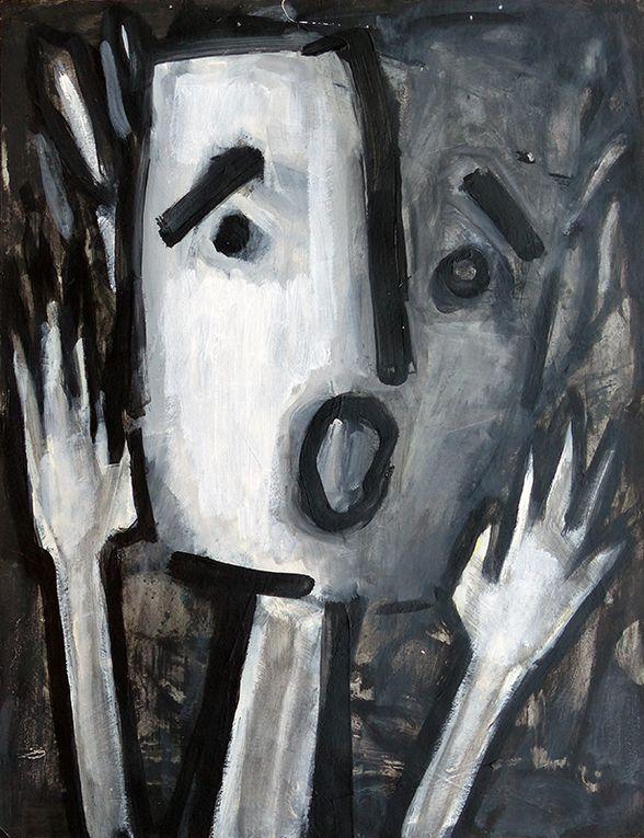3 peintures de Sylvie Sciancalepore