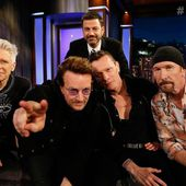 U2 -Jimmy Kimmel Show -Californie -23-05-2017 - U2 BLOG