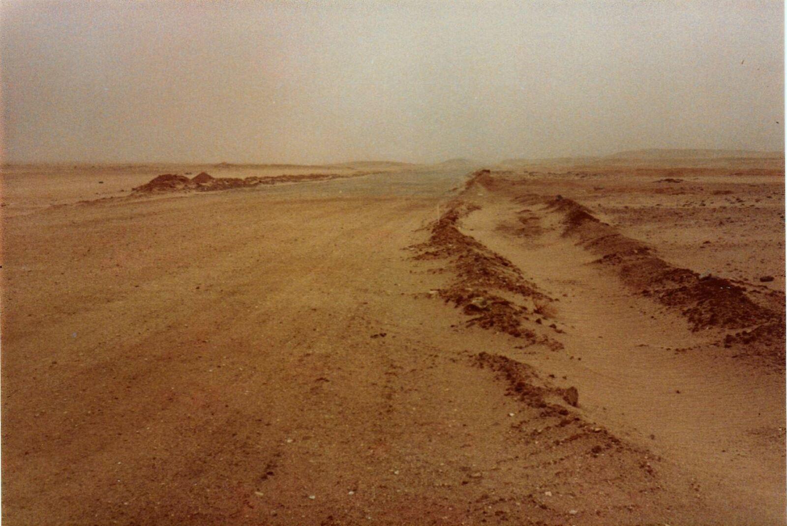 Tempéte de sable dans le Sud