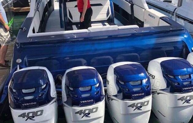 Nautisme - Record de nombre de moteurs exposés à Miami pour Mercury Marine