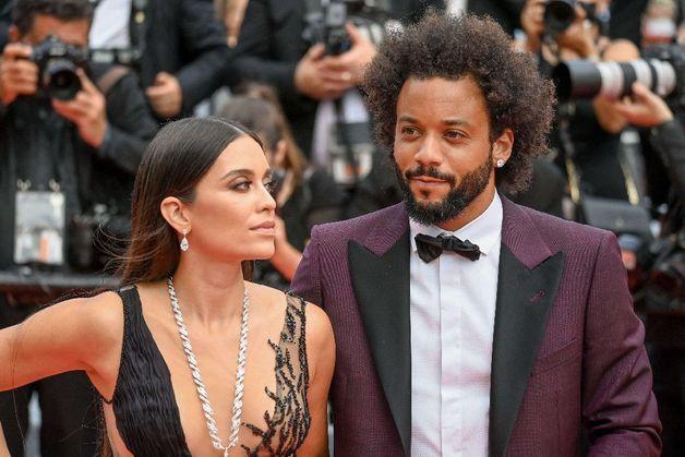 Festival de Cannes 2021 : La sublime robe de la femme du coéquipier de Karim Benzema au Real Madrid, Marcelo Vieira fait sensation !