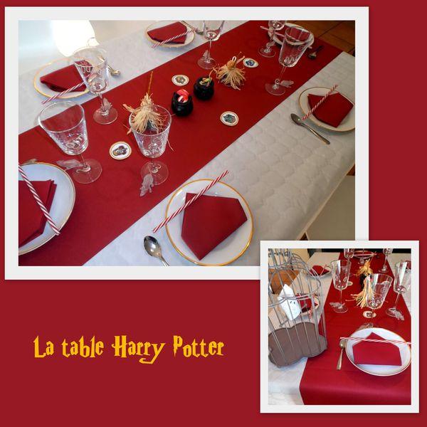 """Anniversaire sur le thème """"Harry Potter"""""""