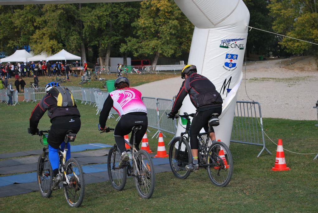 Course de VTT, Miribel (FR), 17/10/2009