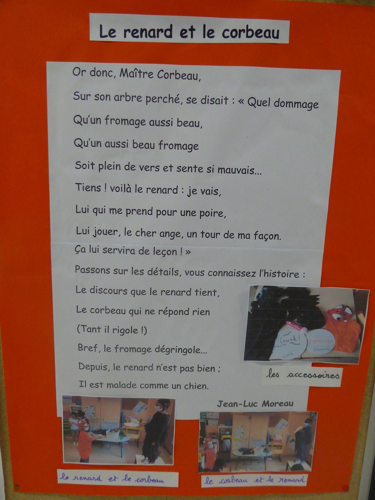 Exposition sur les fables de La Fontaine
