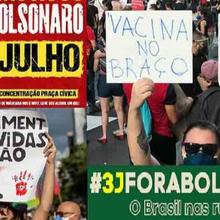 La campagne Bolsonaro dehors ! monte en puissance au Brésil !