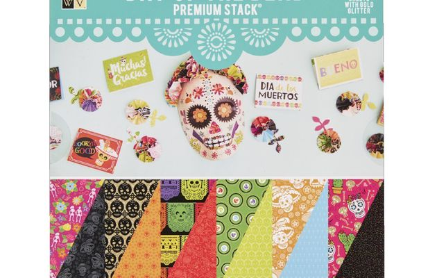 Spotlight Die Cuts With A View Day Of The Dead Paper Pad Premium Stack2