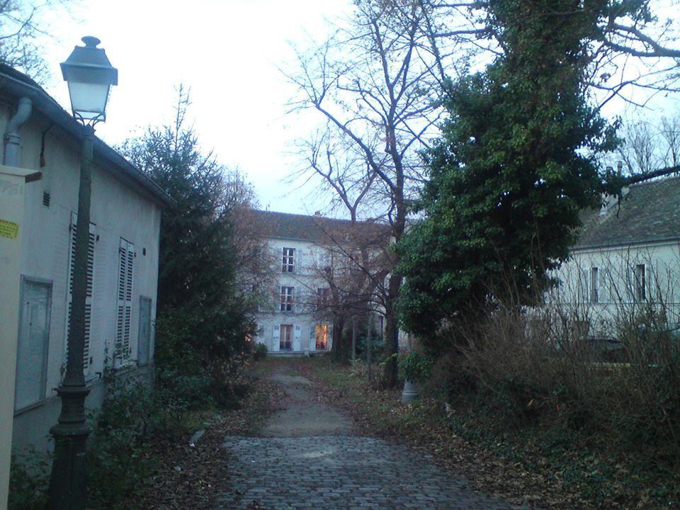 Le charme hivernal de Montmartre
