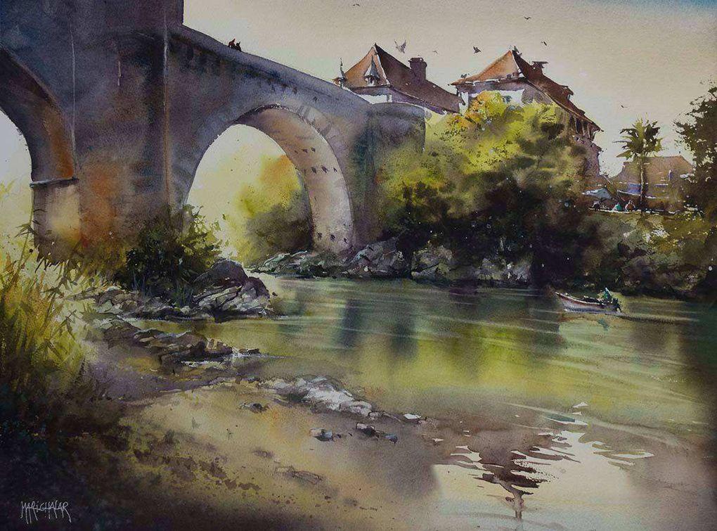 Thierry de Marichalar landes aquarelle festival du 12 au 20/09/2020 à Morcenx 40110