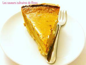 Pumpkin pie ( tarte à la citrouille )