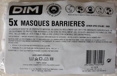 Les masques DIM seraient toxiques ?