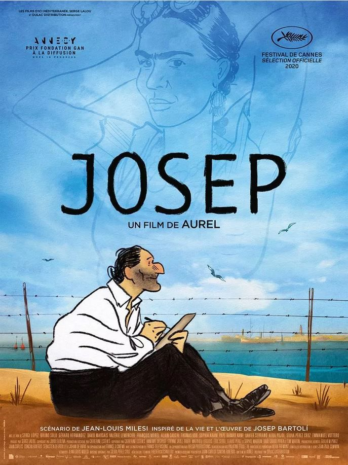 Josep (BANDE-ANNONCE) avec les voix de Sergi López, Gérard Hernandez, Valérie Lemercier - Le 30 septembre 2020 au cinéma