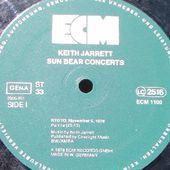 KEITH JARRETT Sun Bear Concerts (1) - TE HOA NO TE NUNAA