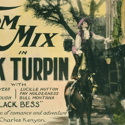 Le Brigand gentilhomme (Dick Turpin - John G. Bystone, 1925)