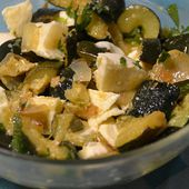 Salade courgettes feta cookeo weight watchers |