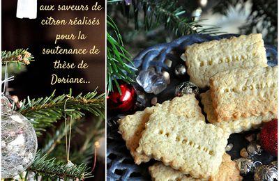 Biscuits de Noël au citron