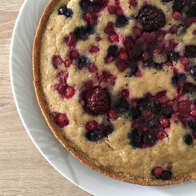 Gâteau à la poêle Amandes - Fruits