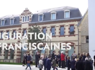 Deauville : Inauguration des Franciscaines