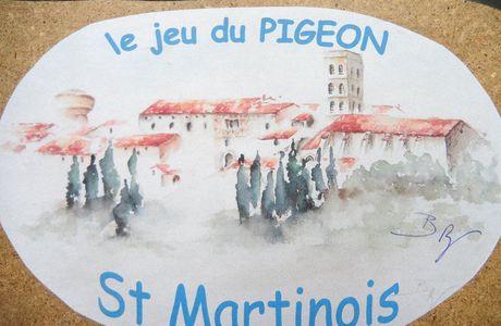 le jeu du pigeon St Martinois