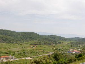 Au dessus de Blato, lors de la montée.