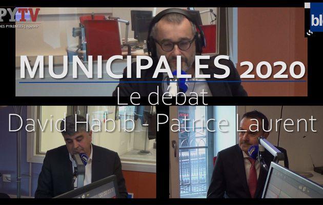 Municipales 2020 à Mourenx : le débat Habib - Laurent (Mars 2020)