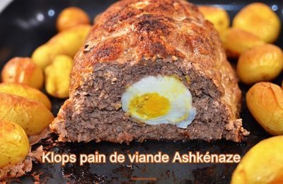 Klops pain de viande Ashkénaze