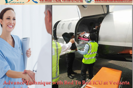 The leading simplified service provider of Ambulance- Vedanta Air Ambulance from Bagdogra