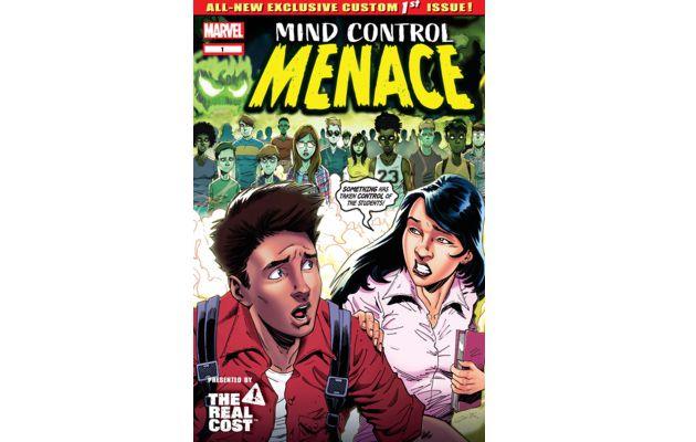 Marvel a sorti un comics books anti-vape